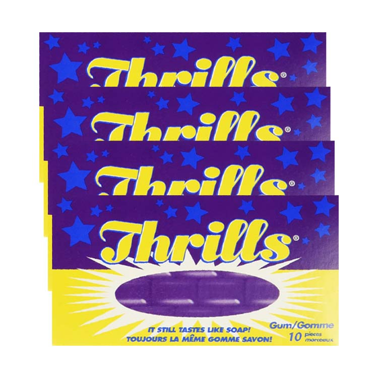Thrills Chewing Gum 4 Packets