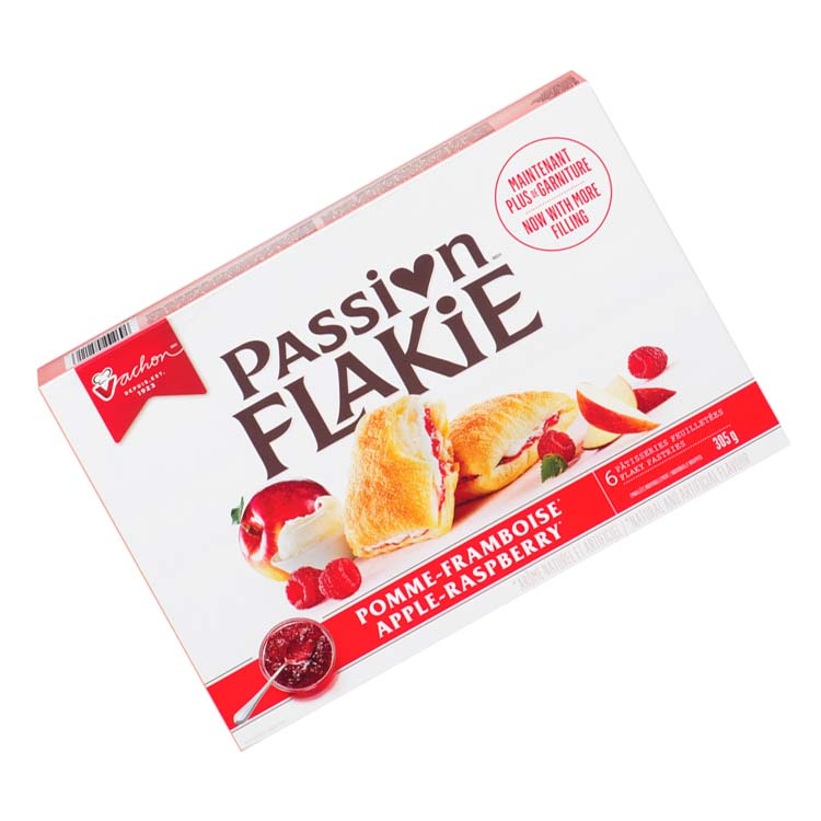 Vachon Passion Flake Apple Raspberry Pastry 305g/10.7oz Box