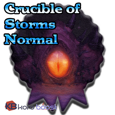 Crucible of Storms Normal Raid boost for loot (CoS loot run carry) - Koroboost.com