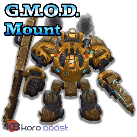 buy wow boost service G.M.O.D. mount