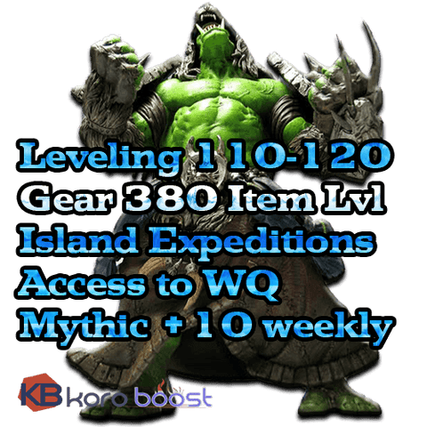 Image of BFA Leveling + Gear Starter Package