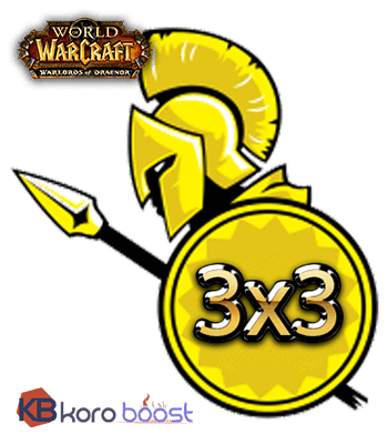 Arena Rating boost 3 x 3 - Koroboost.com
