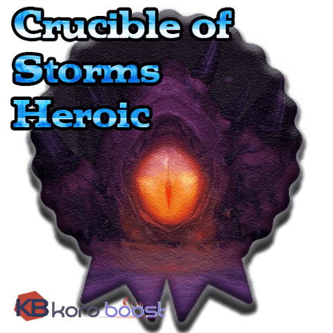 Image of Crucible of Storms Heroic Raid boost for loot (CoS loot run carry) - Koroboost.com
