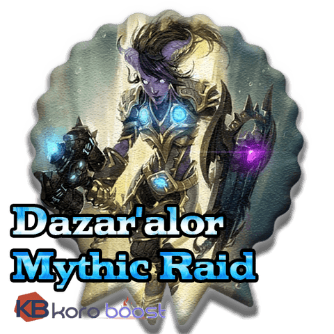 Battle of Dazar'alor Mythic Raid boost for loot (BoD loot run carry) - Loot guaranteed - Koroboost.com