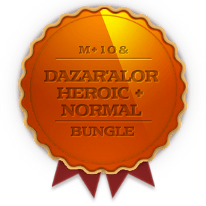 Dazar'Alor Heroic + Normal + 10 weekly Chest Bundle - Koroboost.com