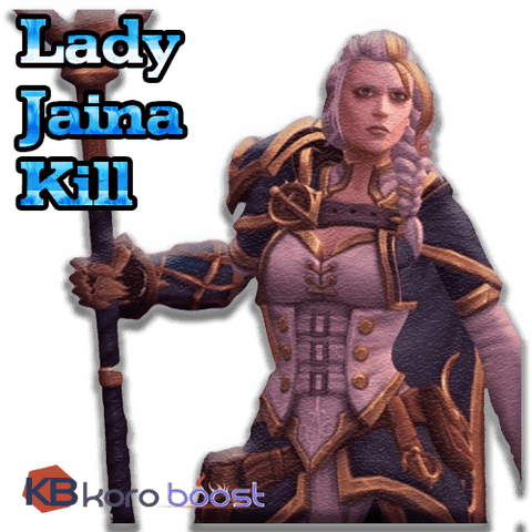 buy wow boost service Lady Jaina Proudmoore Kill Boost (Normal/Heroic/Mythic)