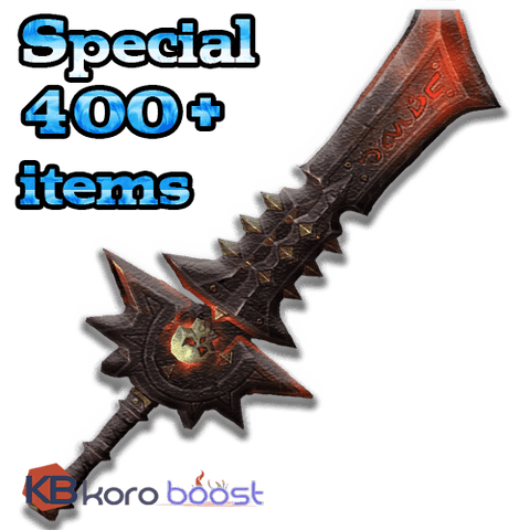 Image of buy wow boost service Special 400+ items from M10+