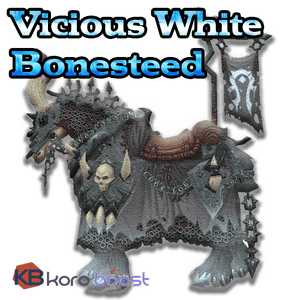 buy wow boost service Vicious White Bonesteed