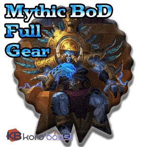 Battle of Dazar'alor Mythic Full Gear Boost Carry - Koroboost.com