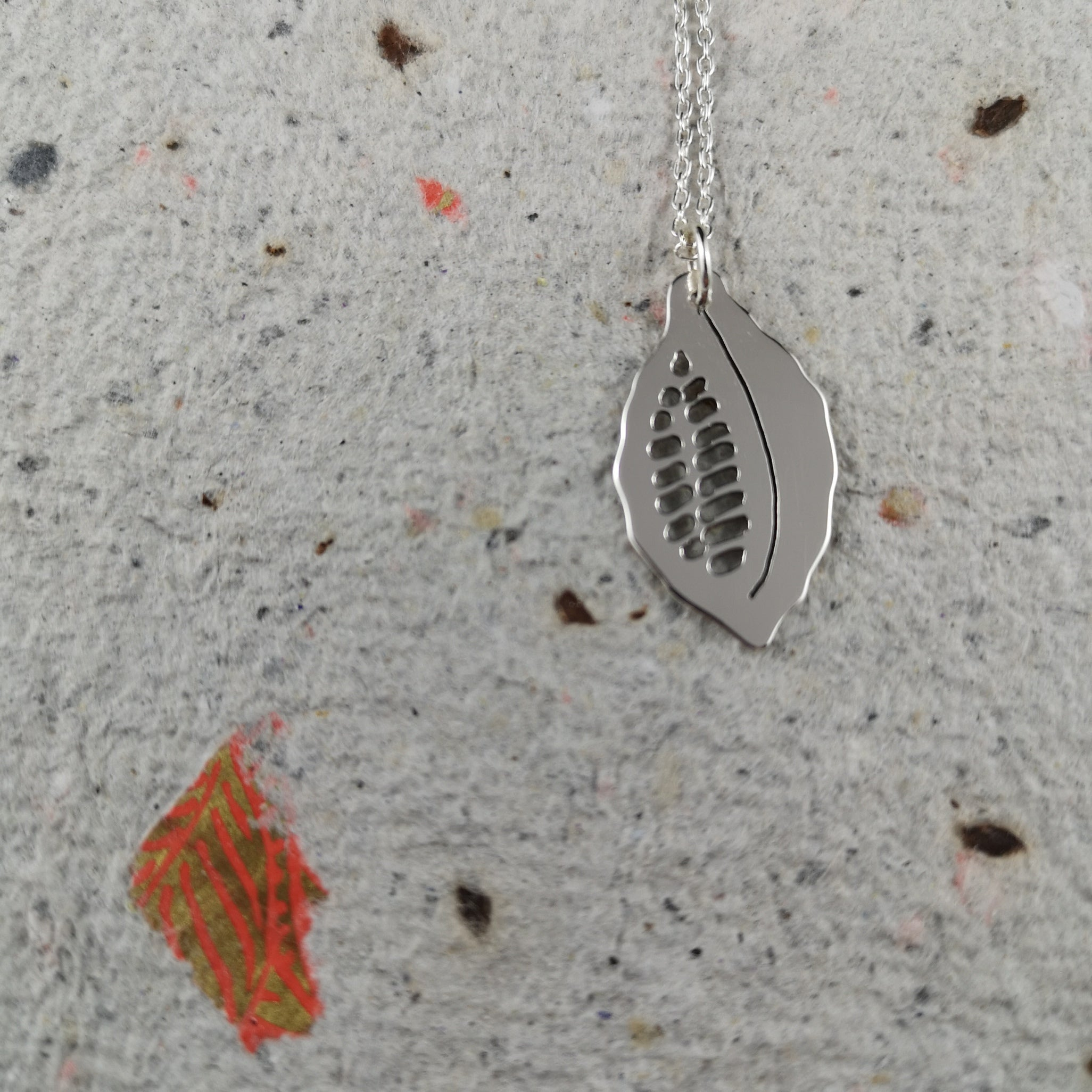 Cacao Pod Necklace