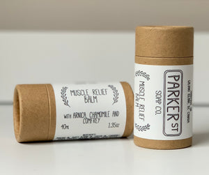 Muscle Balm with Arnica, Comfrey and Chamomile