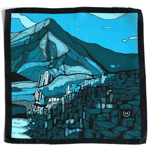 Pocket Square - Giant's Causeway