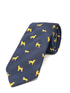 Golden Dogs Tie
