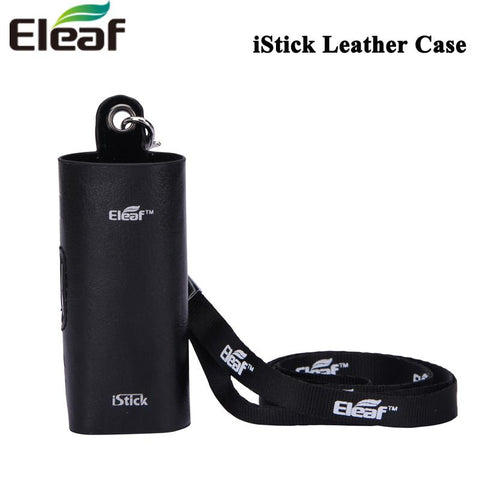 Eleaf PU Leather Case with Ego Lanyard Ring Leal Cover