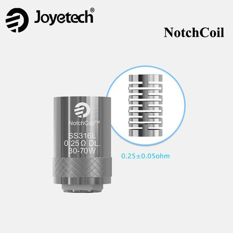 5pcs Joyetech Notch Coil