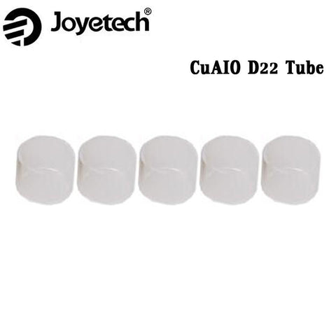 5pcs Joyetech CuAIO D22 Replacement Pyrex Glass Tube