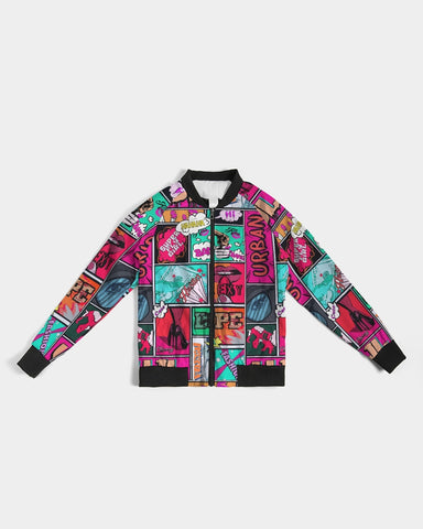 UJL pop comic Women's Bomber Jacket