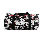 Black & White elephatige Duffel Bag