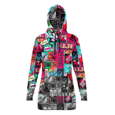 UJL Comic hoodie dress
