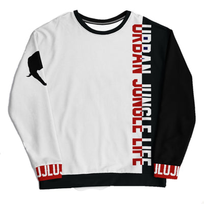 UJL 7.5 White Sweatshirt