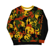 Survival of the FLYEST Elephatigue  sweatshirt