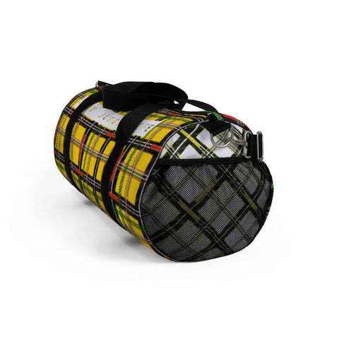Jungle plaid Duffel Bag