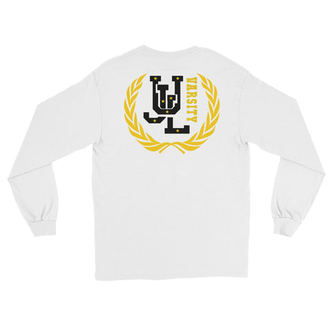 UNDEFEATED UJL varsity BLACK Long Sleeve Tee