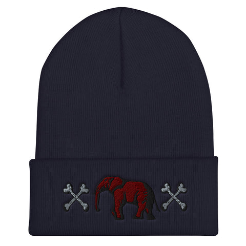 Navy blue victorious Beanie