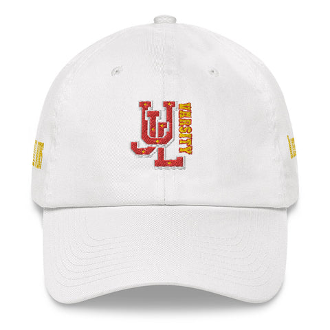 Ujl varsity Red dad hats