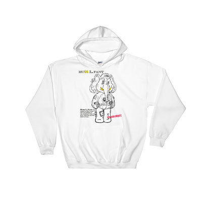 HU$$ L. FANT ROUGH DRAFT Hooded Sweatshirt