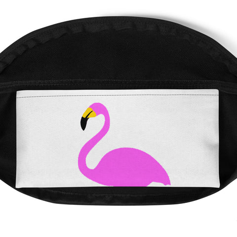 Yellow UJL flamingo Fanny Pack