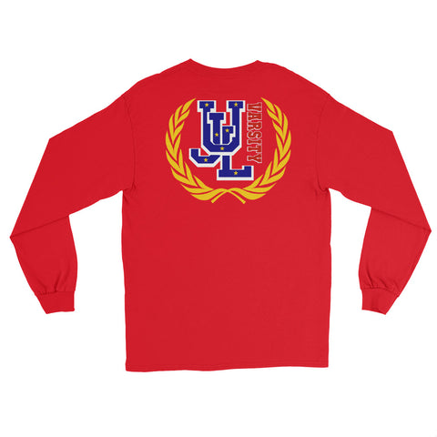 UNDEFEATED UJL Varsity RED Long Sleeve Tee