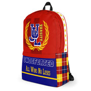 Varsity RED Backpack