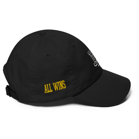Varsity BLACK Dad hat