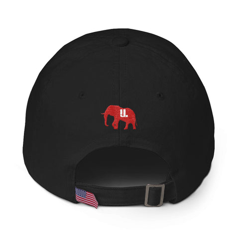 Alpha shield dad hat