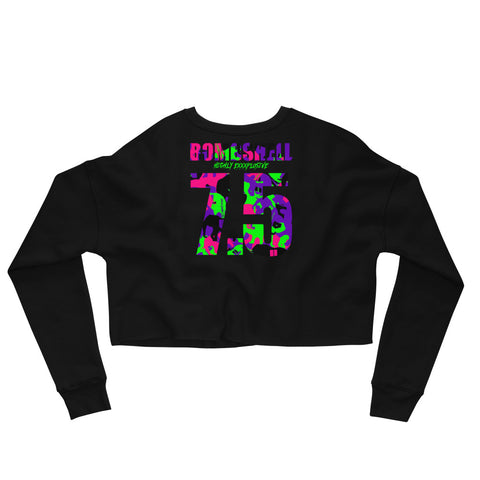 Survival of the Finest Crop Sweatshirt