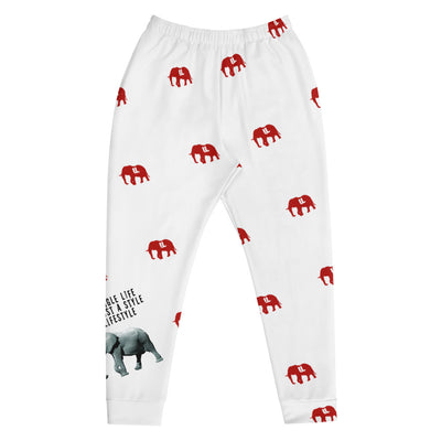 "Its a LIFESTYLE Joggers ""WHITE"""