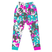 Her teal berry elephatigue Joggers