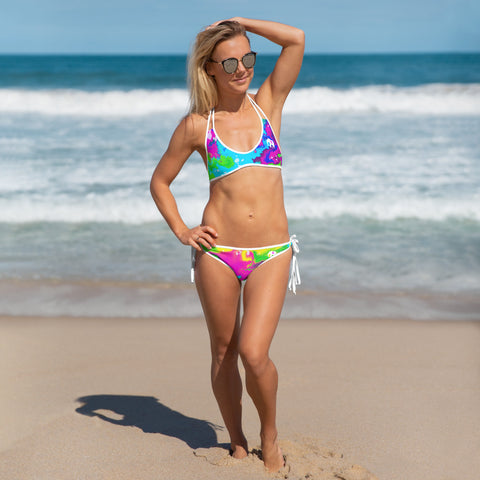 UJL Tropical ink reversible Bikini