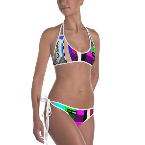 STAY TUNED reversible bikini