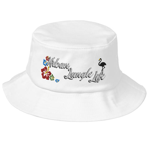 Tropical Old School Bucket Hat