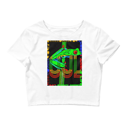Jungle frog Women's Crop Tee