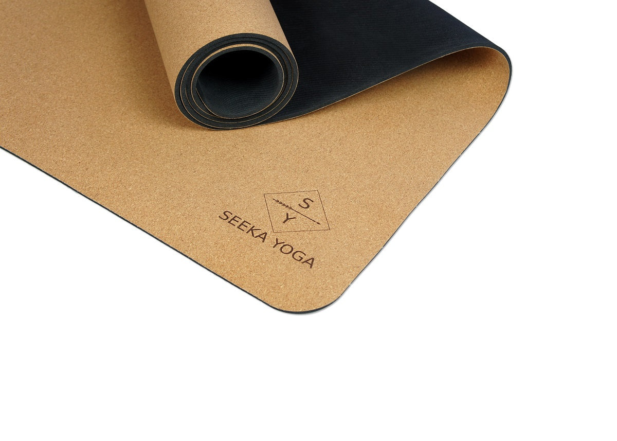 Natural Cork Yoga Mat - Moon