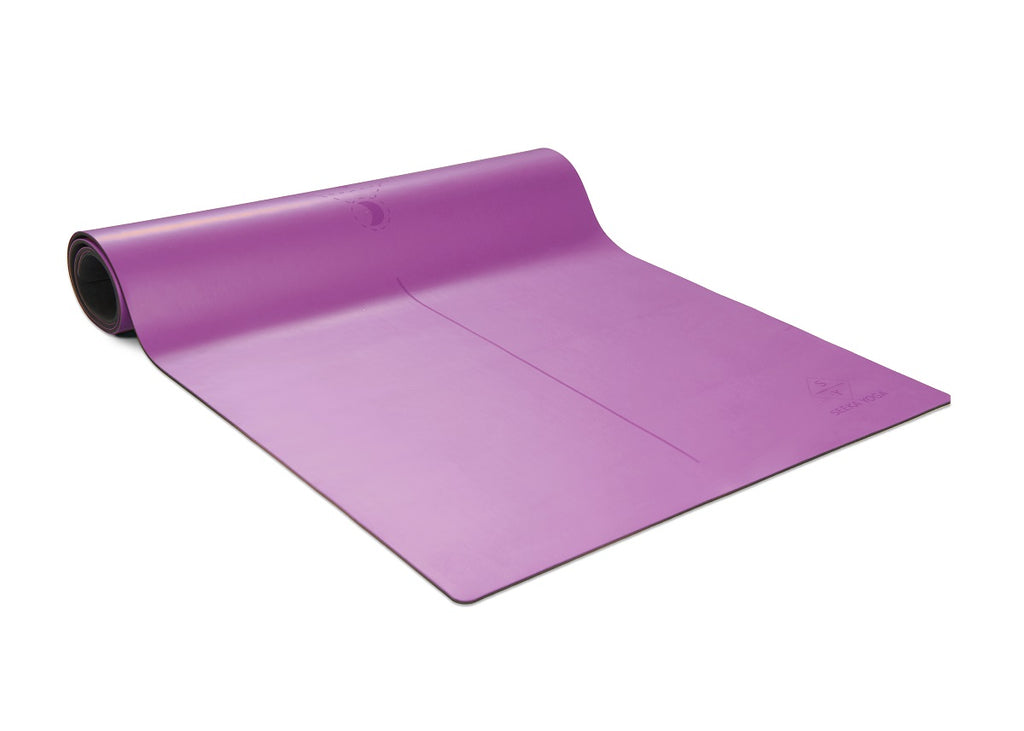 Seeka PRO ECO yoga mat - Moon series PURPLE