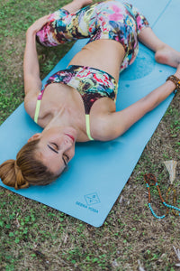 Seeka PRO ECO yoga mat - Moon Series Turquoise