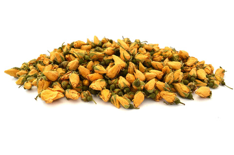Yellow Rose Buds - Dried Flowers Market