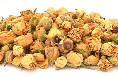 Ivory Rose Buds - Dried Flowers Market