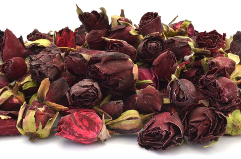 Red Rose Buds - Dried Flowers Market