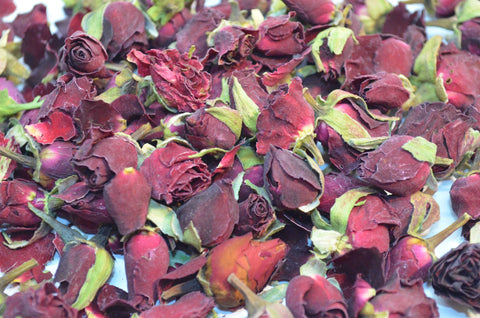 Dried Rose Buds - Mix Pack - Dried Flowers Market