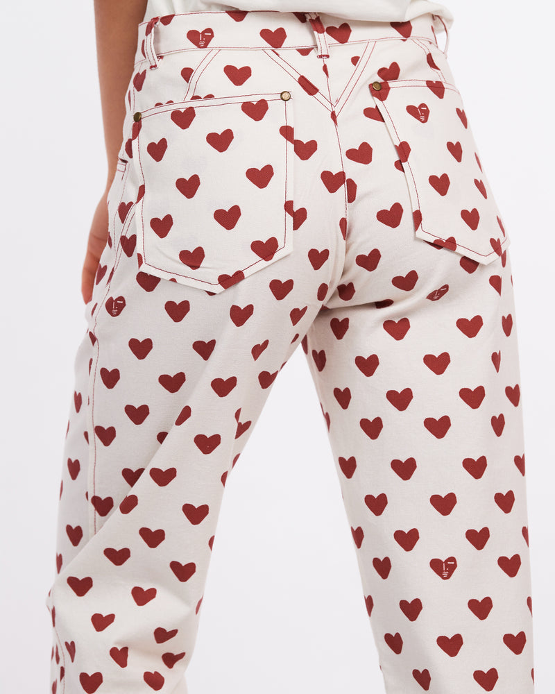 Alexa Trouser - Hearts
